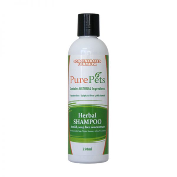 Herbal Shampoo 250ml - PurePets