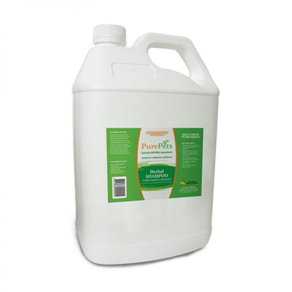 Herbal Shampoo 5Litres - PurePets