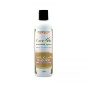 Vanilla Oatmilk Shampoo 250ml - PurePets