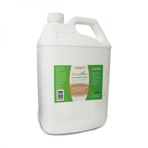 Vanilla Oatmilk Shampoo 5Litres - PurePets